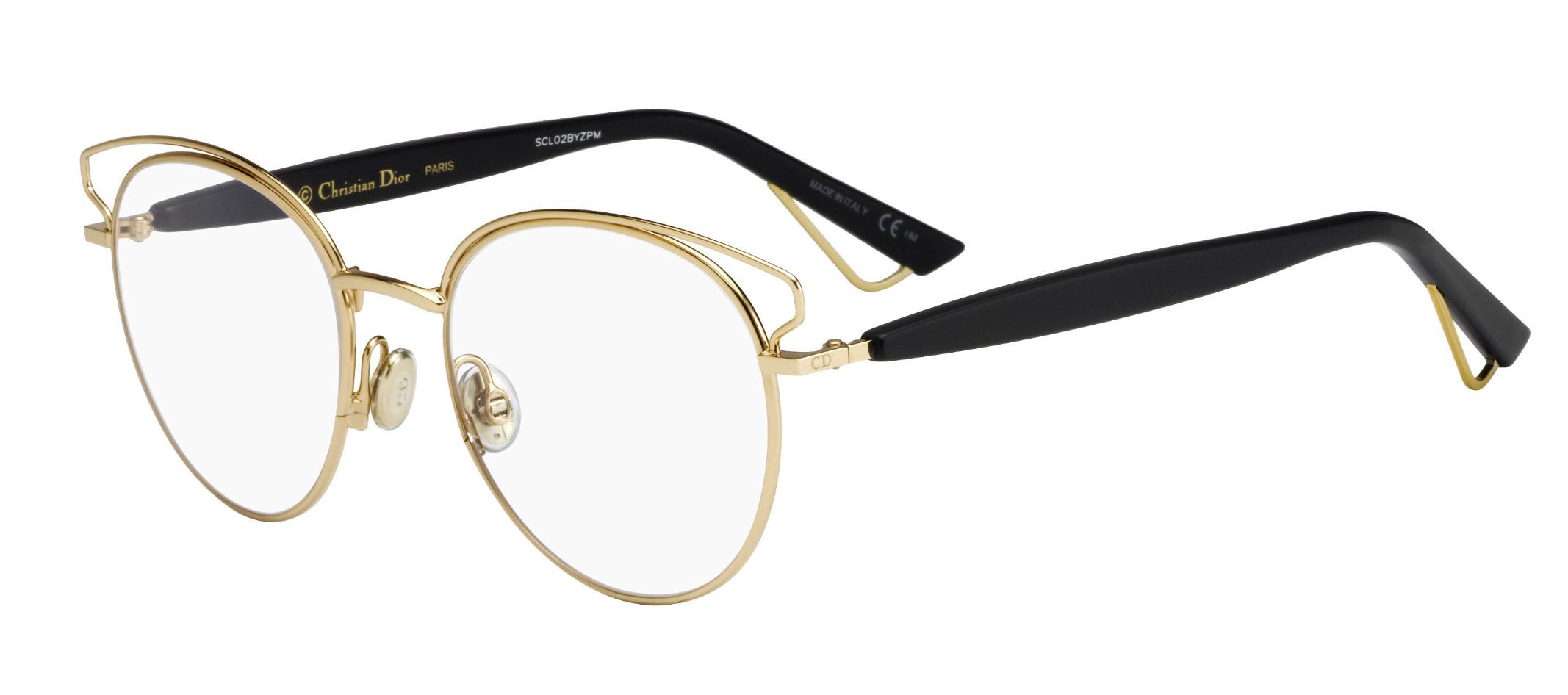 c7b6f1e526 Dior Sideral O 0DEM Round Eyeglasses