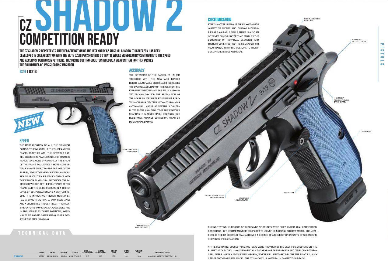 Pin by RAE Industries on cz | Hand guns, Guns, Shadow 2