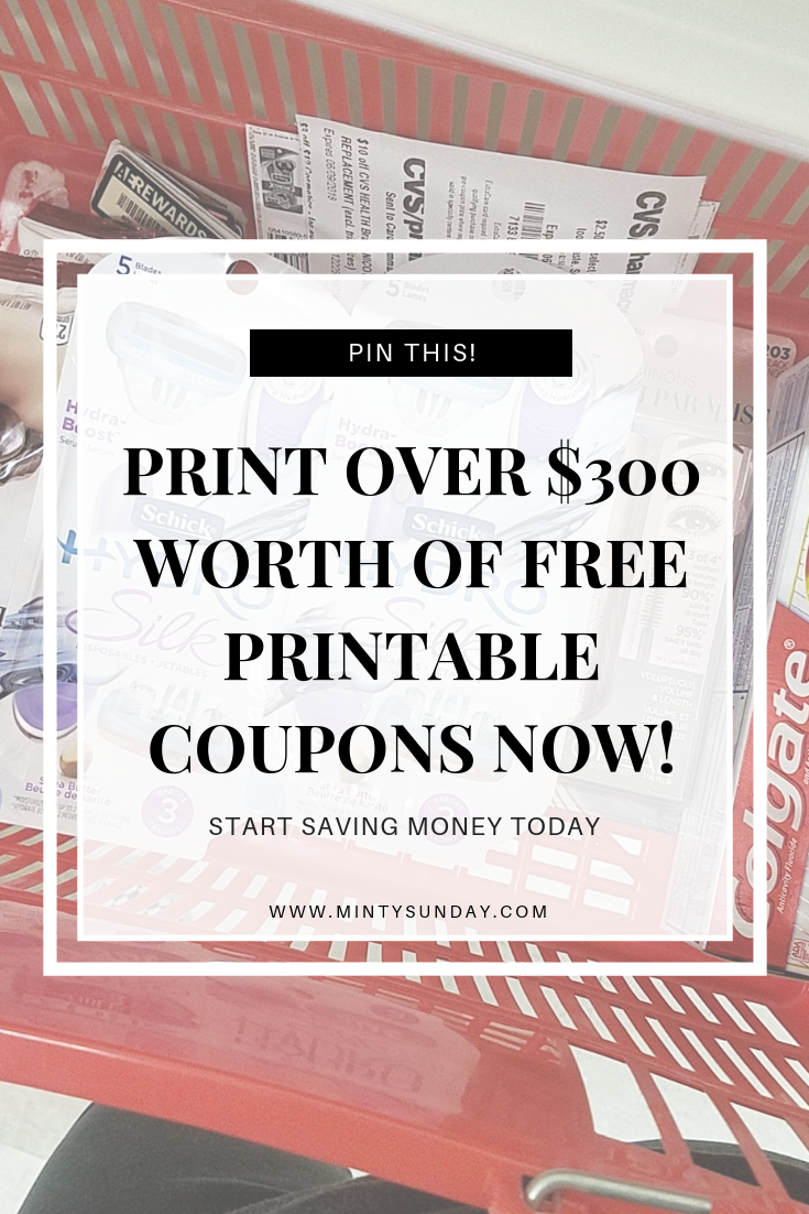 Print FREE Printable Coupons Now!