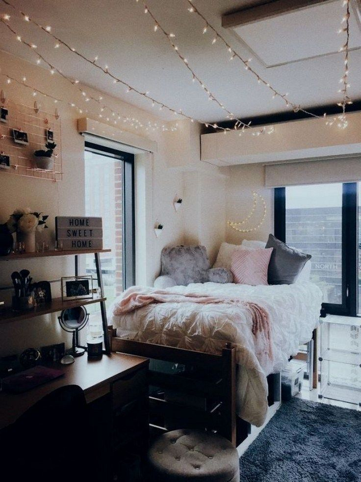 40 cute loft beds college dorm room design ideas for girl 34 dormroomideas dormroom is part of Dorm room inspiration - 40 cute loft beds college dorm room design ideas for girl 34 dormroomideas dormroom Related