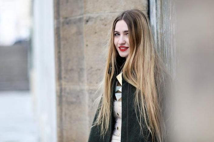Beauty Street Style From Fall 2014 Fashion Month | Beauty High