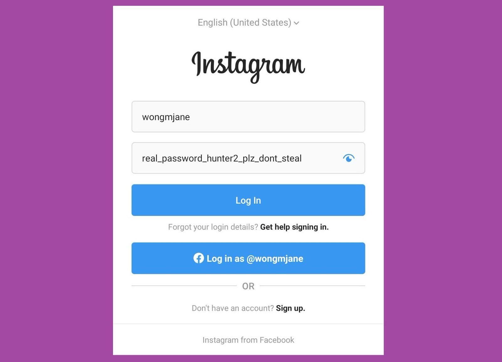 Instagram is Reportedly Working on a Password Unmasking