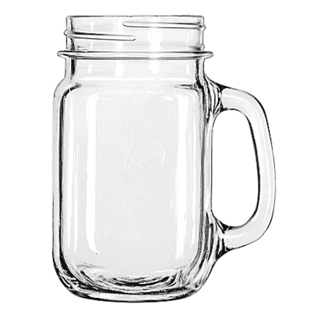 Mason Jar 16oz Handled in 2020 Drinking jars, Mason