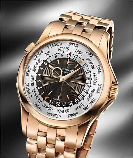 80a08cfd870 Replica Patek Philippe World Time Rose Gold 5130 Watch Review ...