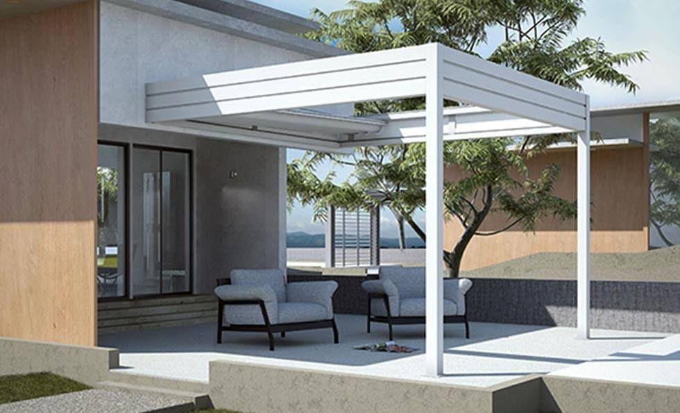 Avete sempre sognato un terrazzo così? con le #GrandiCoperture firmate R.t. tende tutto è possibile