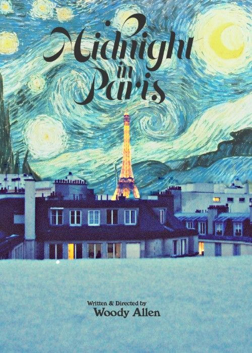 Midnight in Paris | Movie posters, Paris poster, Alternative movie posters
