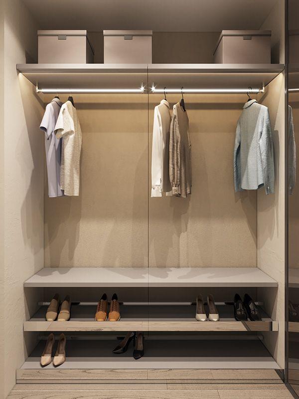 Autodesk Room Design: Wardrobe Furniture, White