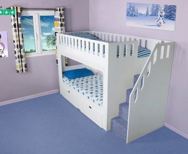 Deluxe Funtime Bunk Bed Shorty | Shorty bunk beds, Bunk ...