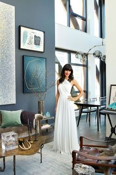 Athena Calderone's Closet - Pictures from Athena Calderon's Brooklyn Apartment - Harper's BAZAAR