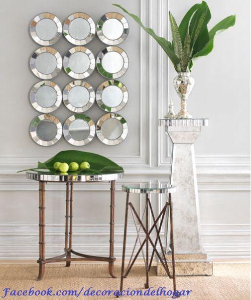 Ideas para decorar con espejos by for Espejos decorativos dormitorio