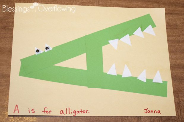 Alligator Lesson Plans Preschoolers