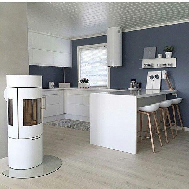 Nordisk kjøkken hos @sol_kristin 💎 Tilsvarer vårt Horisont kjøkken  #kitcheninspiration #kjøkkeninspirasjon #nordicinterior #Nordisk #inspiration
