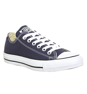 Converse All Star Low Unisex Sports Navy Canvas