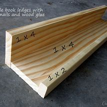 Bookshelves for Children's Reading Nook -  since Ikea doesn't sell the long picture ledge anymore, I will make my own!  - #bookshelves #Childrens #decoratingideasforthehome #diykitchenideas #diykitchenprojects #homediycrafts #Nook #reading