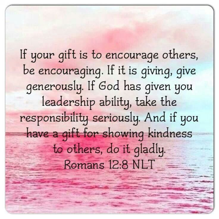 Romans 128 new international version if it is to encourage then romans 128 new international version if it is to encourage then give encouragement negle Choice Image