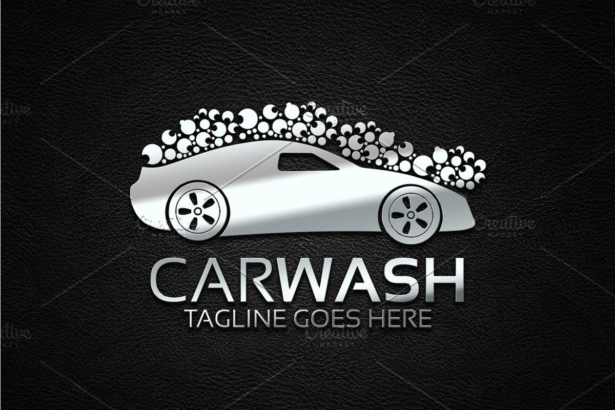 Car Wash Logo Wash Logo Car Wash Custom Logo Design