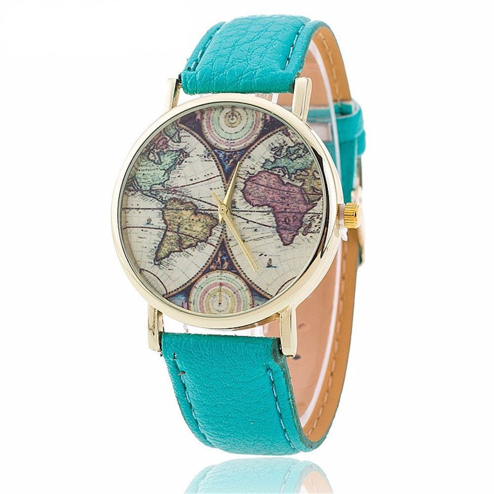 World map watch products pinterest world map watch gumiabroncs Gallery