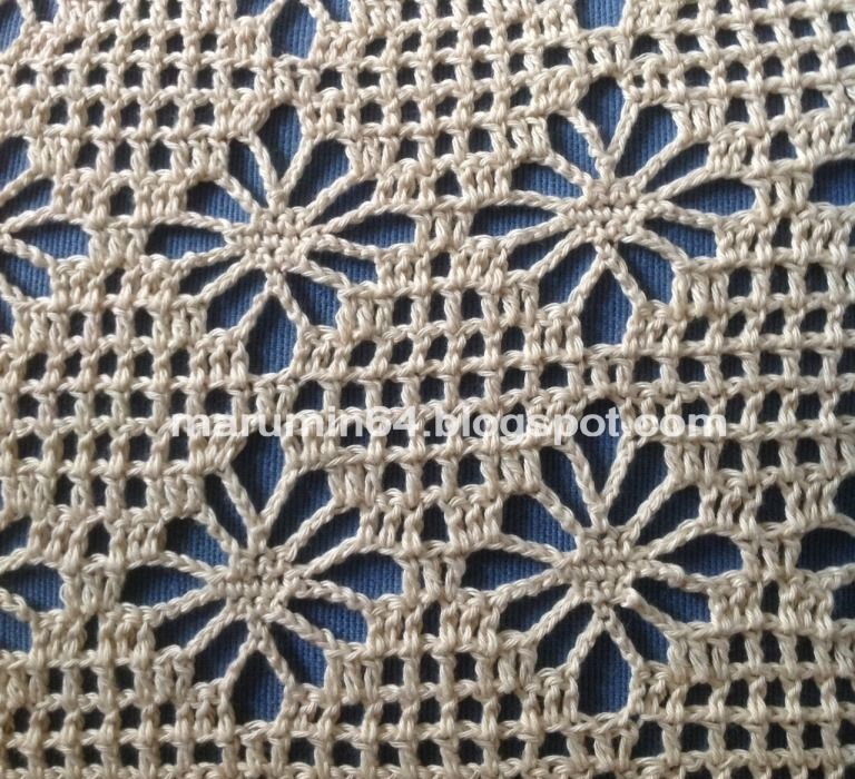 Crochet Patterns In English : Beach Cover Up, free crochet pattern in stitch symbols ...