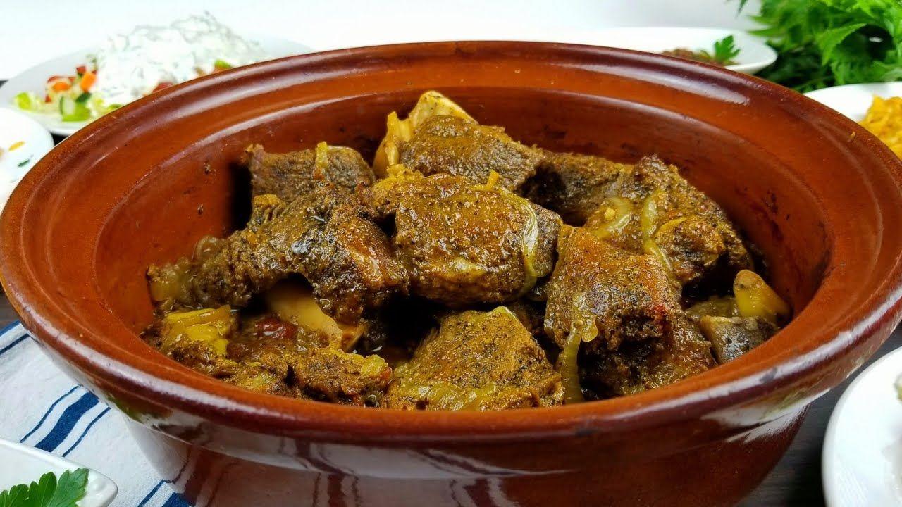 حنيذ لحم يمني بالفخارة المدر بصراحه رهيبه Roasted Meat In A Clay Pot Youtube Dog Food Recipes Food Food Animals