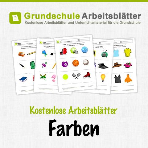 Kostenlose Arbeitsblätter und Unterrichtsmaterial zum Thema Farben ...