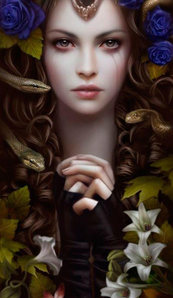 Beauty | Fantasy art warrior, Warrior woman, Amazing art