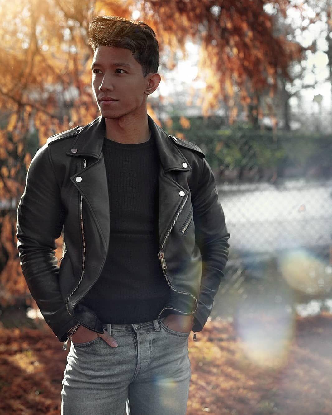 Mensfashion Karl On Instagram The Leather Jacket The Leather Jacket Is Such A Clas Leather Jeans Men Leather Jacket Outfit Men Leather Jacket Men Style [ 1333 x 1066 Pixel ]