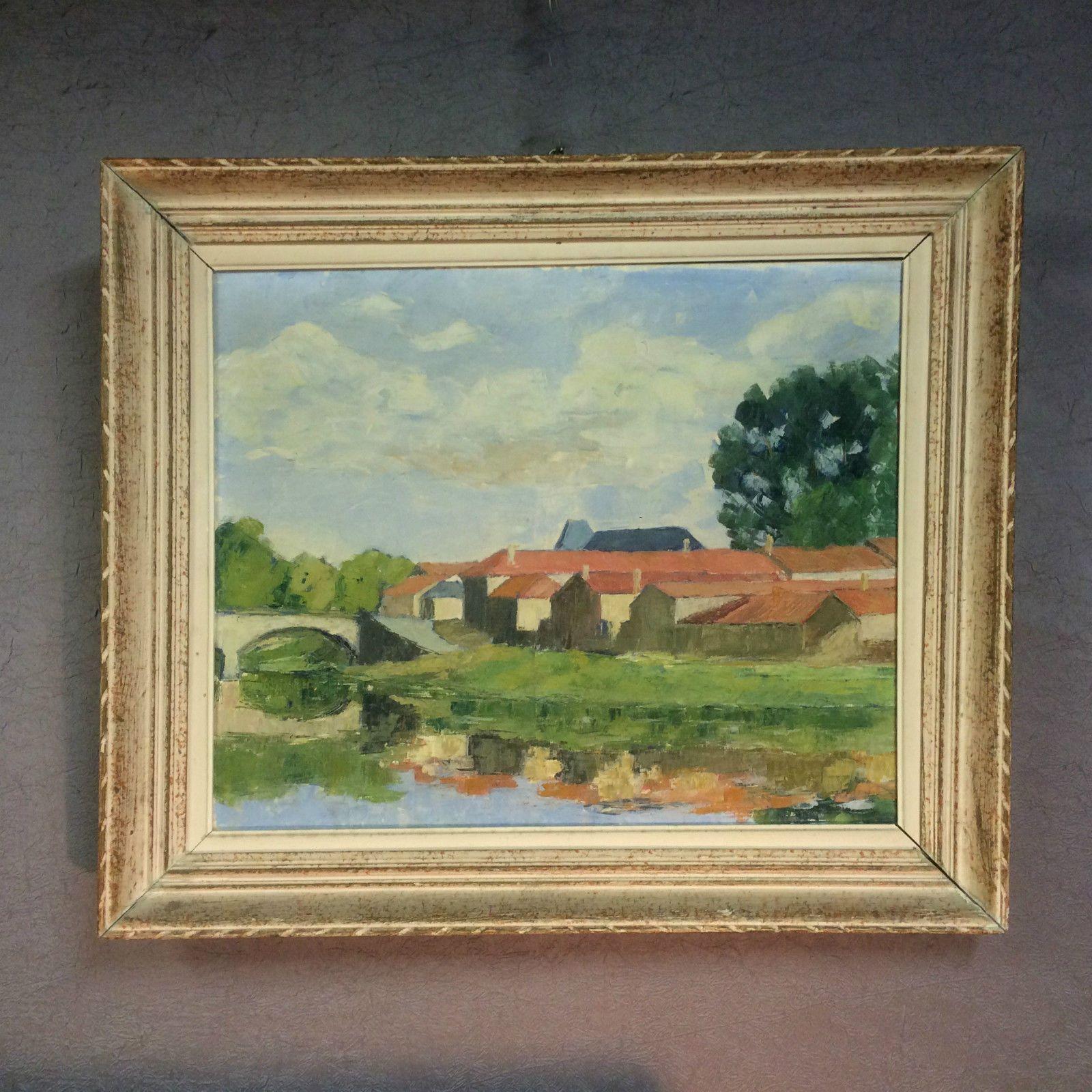 datant vieilles peintures à l'huile