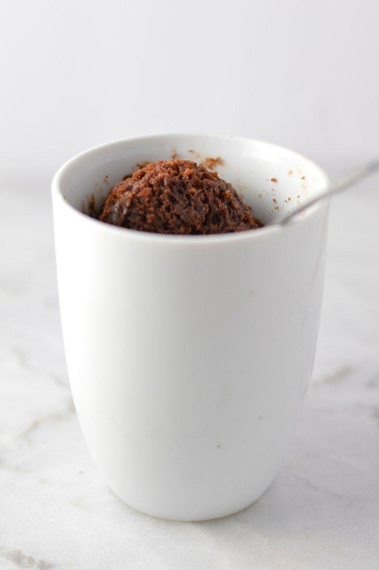 Four Ingredient Nutella Mug Cake | Recipe | Nutella mug ...