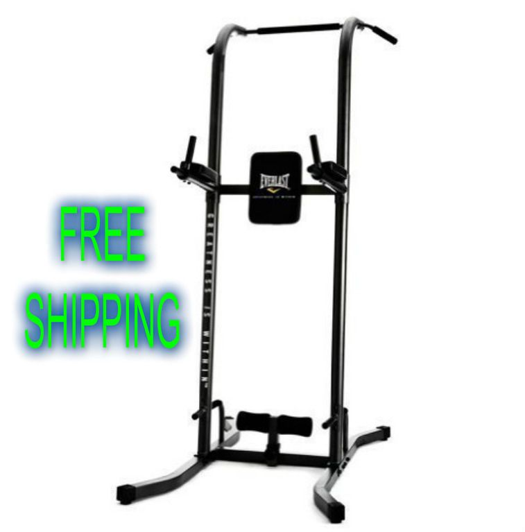Pull & Dip Power Tower Home Gym Fitness Strenght Station Cross ...