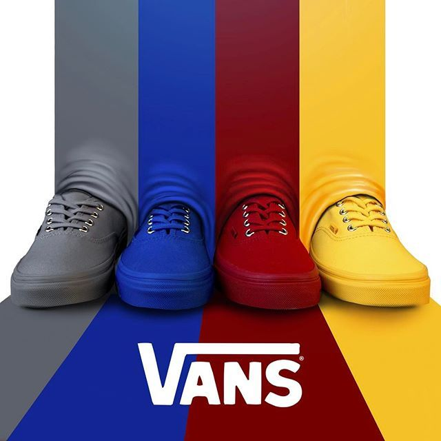 vans primary colors