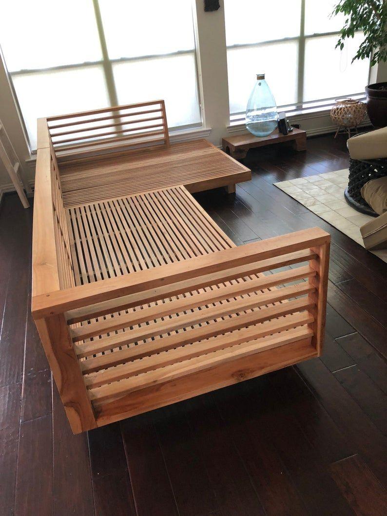Solid Teak Wood L Shape Patio Sofa Without Cushion In 2020 Wooden Sofa Set Designs Wooden Sofa Set Wooden Sofa Designs
