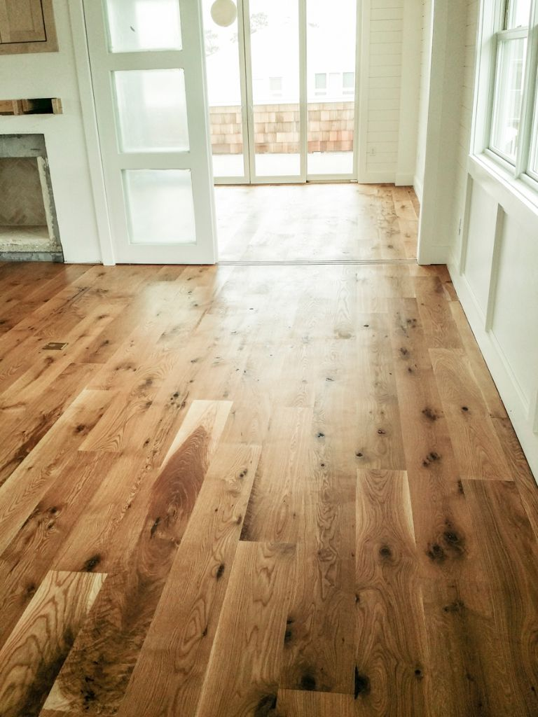 White Oak Hardwood Floors Wide Plank