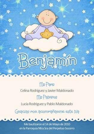 25 tarjetas de bautismo  angel bautizo  Pinterest  Tarjetas de