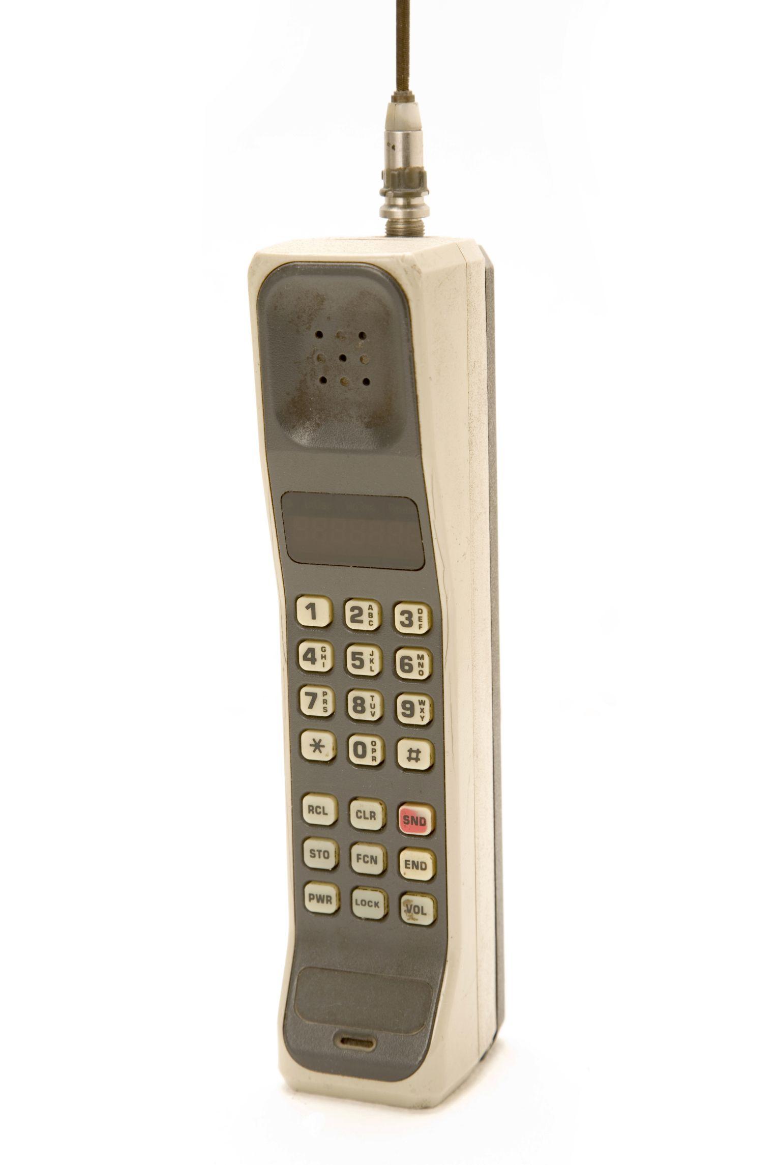 History of Cell Phone Phone, Motorola dynatac, History