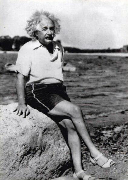 Hasta los genios se relajan