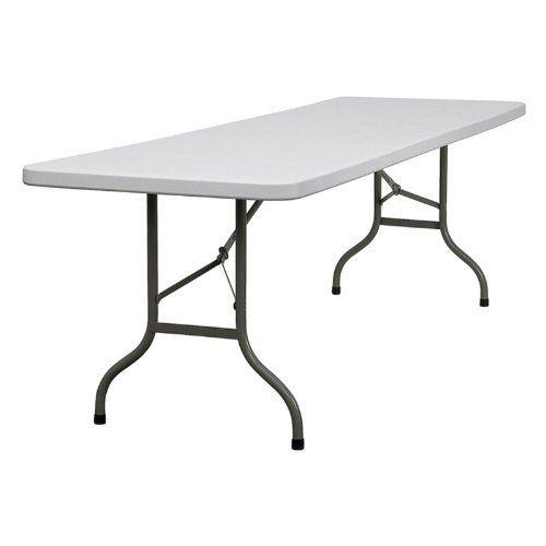 Flash Furniture 30 W X 96 L Plastic Folding Table By Flash