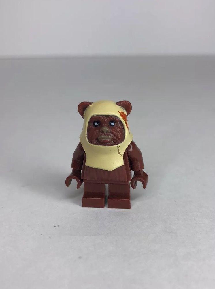 Lego Paploo Ewok from Set 8038 Battle of Endor Star Wars Minifigure NEW sw238