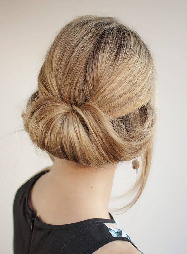 hairstyle simple easy rollup pretty   Easy hairstyles ...
