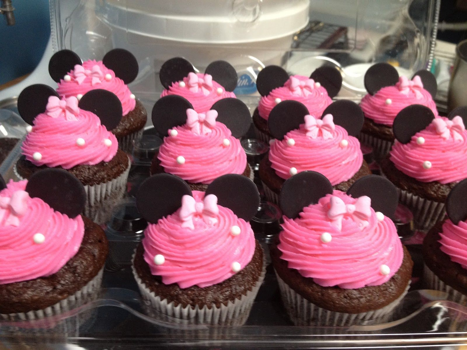 Assorted Birthday Cupcakes, Teddy bear and 3 Balloons
