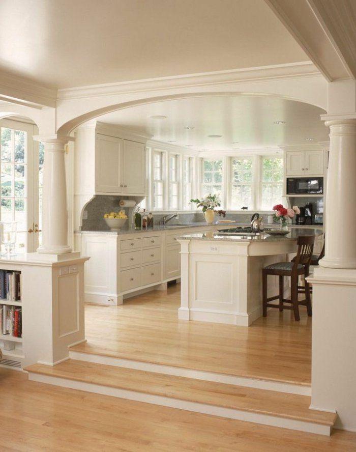 Découvrir la beauté de la petite cuisine ouverte! Amenagement