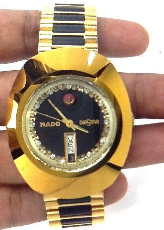 Authentic Genuine Vintage Rare Rado Diastar 25 Jewels Automatic 2878 Men S Watch Wristwatch Men Vintage Watches Watches For Men