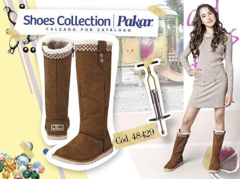 Botas Moda Invierno Shoes Collection Pakar