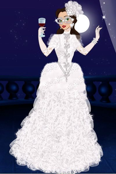 Masquerade Gown By Octavia Created Using The Princess Doll Maker