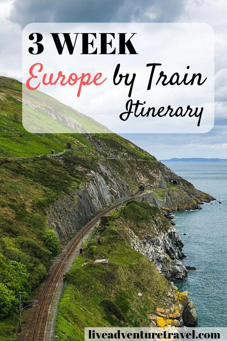 El ULTIMATE 3 semanas ITINERARIO INTERRAIL para Europa en tren