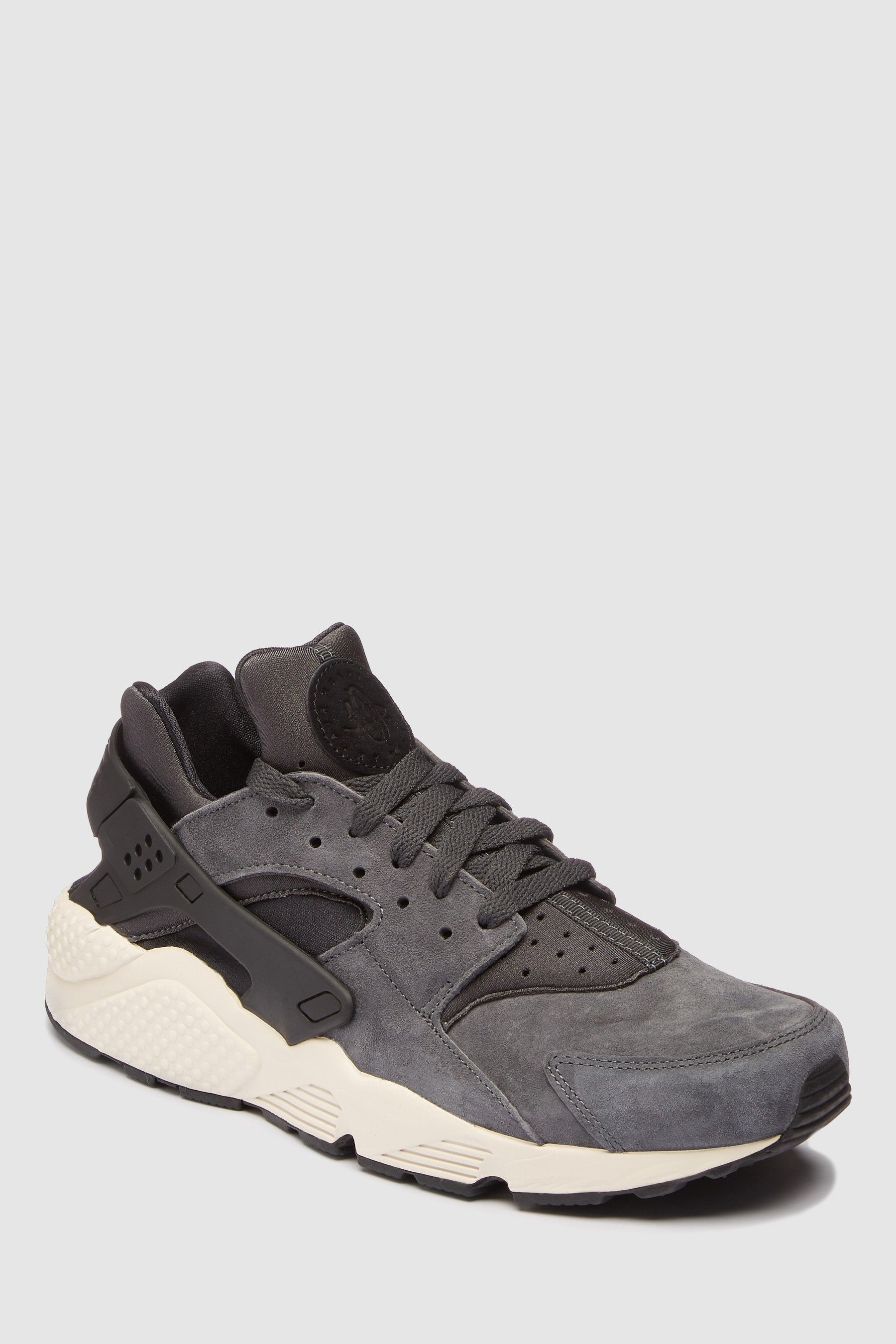 san francisco 9f124 f97a4 Mens Nike Black Huarache Premium - Black