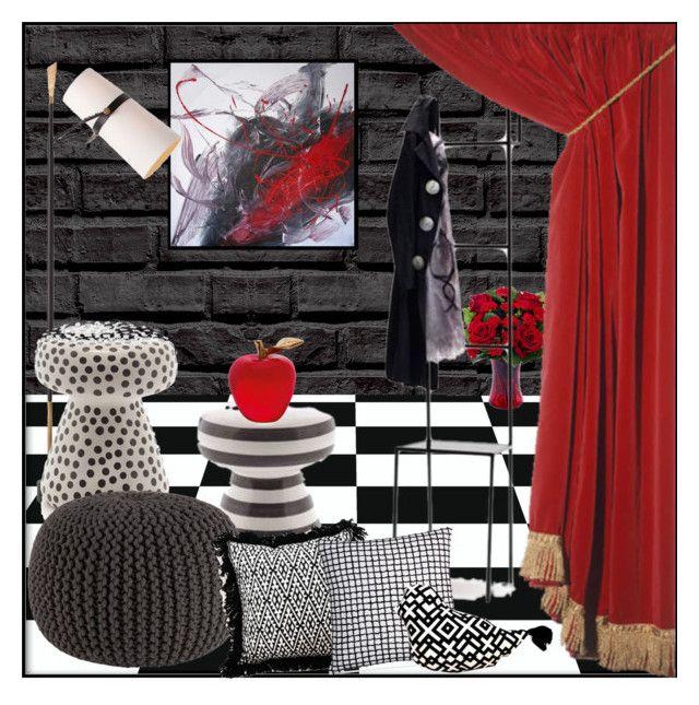"""MAGIC #1"" by kskafida ❤ liked on Polyvore featuring interior, interiors, interior design, home, home decor, interior decorating, CB2, Hotel Collection and Daum"