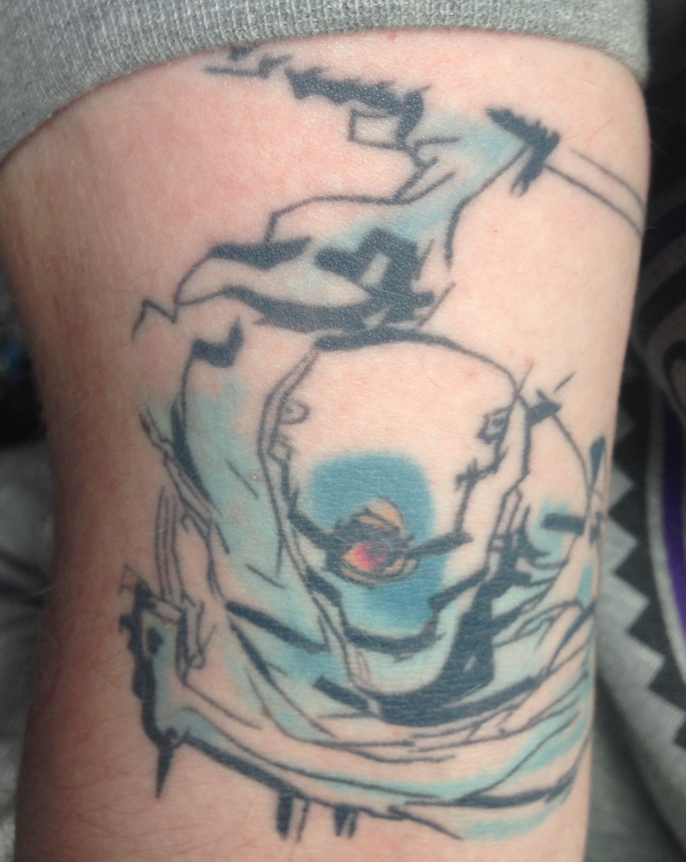 My Gray Fox Metal Gear Solid Tattoo Tattoo Metalgearsolid Tattoos