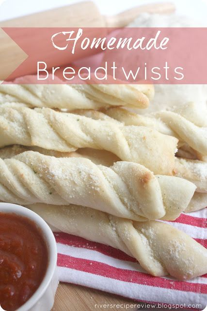 Homemade Breadtwists : The Recipe Critic.  These are so easy to make and taste exactly like the Pizza Factory Breadsticks!