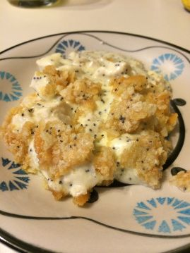 Lemon Poppy Seed Chicken Casserole
