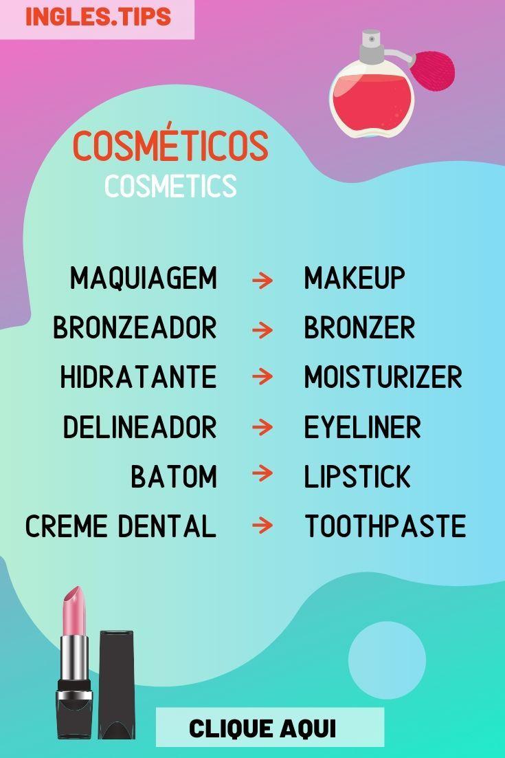 Vocabulario Do Dia Cosmeticos E Outros Vocabulario Em Ingles